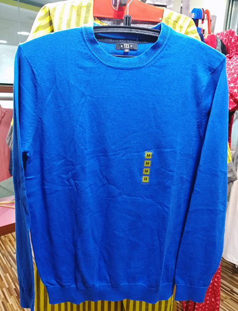 Mens Blue Sweater