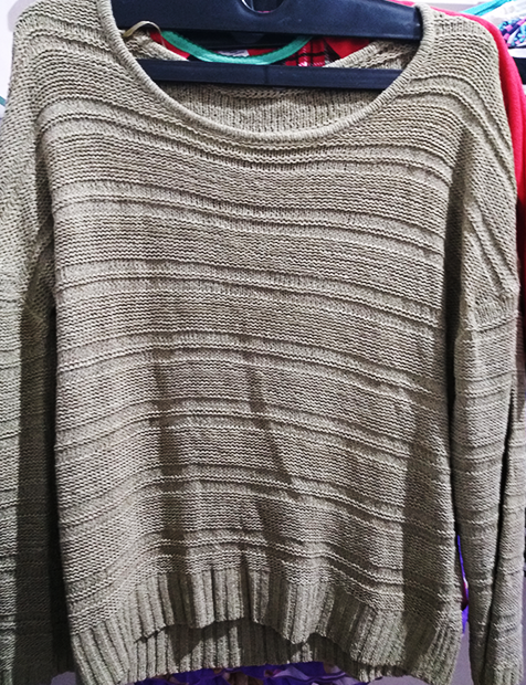 Women Ash Sweater