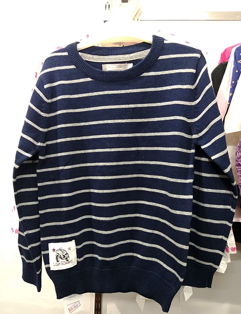 Women Stripe Sweater Pink
